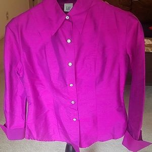 💖💜Beautiful 💖💜Gap 💖💜blouse 💖💜size small.